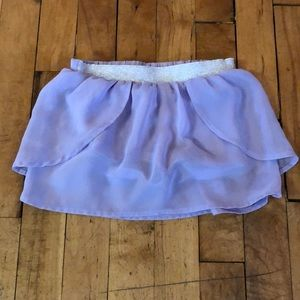 Cute toddler girls skirt